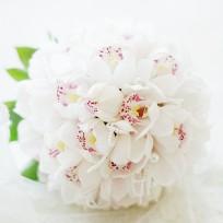 [FL44] Pure White Bouquet