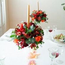 Candle Table Centerpiece