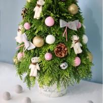 2016년 플로리스트 12월호 잡지 - Christmas Tree