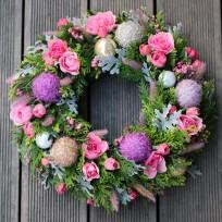 2016년 플로리스트 12월호 잡지 - Christmas Wreath